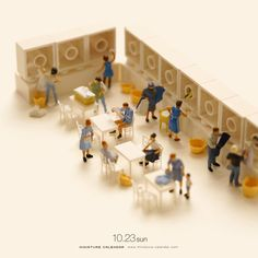 Tatsuya Tanaka Is A Japan Based Photographer And Art Director Who Has  Created A Creative And Fun Miniature Diorama Like The Ones Below Every Day  For The ...