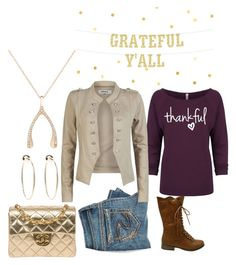 """""""Untitled #2176"""" by mountain-girl-lynn ❤ liked on Polyvore featuring maurices, Jennifer Meyer Jewelry, ONLY, Chanel and Bebe"""