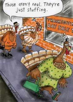 Turkey Talk.    - They aren't real .. they're just stuffing ShopletPromos.com - promotional products for your business.