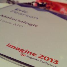Twitter / MrEricPearson: Day 1 at #magentoimagine ...