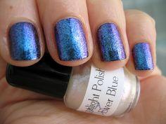 Ever Blue - Starligh Polish @DizzyNails Metallic Nails, Nail Polish, Blue, Nail Polishes, Polish, Manicure, Nail Polish Colors