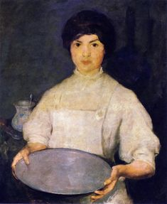 The Athenaeum - Girl with Pan (Charles W. Hawthorne - )