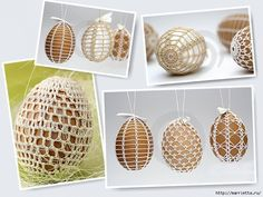 SCHEDULES crocheted shirts for Easter eggs - a lot! Description from pinterest.com. I searched for this on bing.com/images