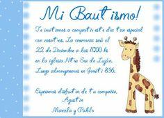 Invitaciones De Bautizo Para Imprimir   Frases para tarjetas de bautismo - Imagui