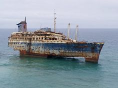 Remains of the SS America