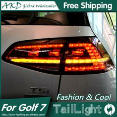 ==> [Free Shipping] Buy Best AKD Car Styling for VW Golf 7 Tail Lights 2013-2015 Golf7 MK7 LED Tail Light GTI R20 Rear Lamp LED DRLBrakeParkSignal Online with LOWEST Price | 32607076713