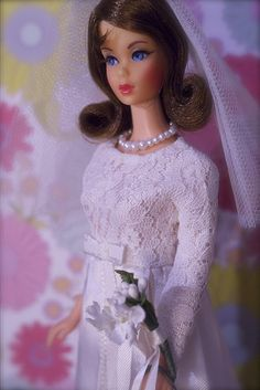 "Visit www.modbarbies.com  TNT Barbie got a new look in 1969. Twist 'n Turn Barbie got a new hairstyle - a shoulder length flip, inspired by the hit TV show ""That Girl"" which ran from 1966 to 1971 and starred Marlo Thomas with a similar hairstyle. This Barbie is often referred to as TNT Flip or TNT Marlo or even TNT Marlo Flip."