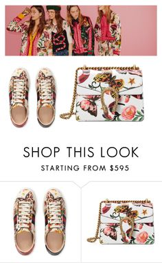 """""""Presenting the Gucci Garden Exclusive Collection: Contest Entry"""" by vane-dotta ❤ liked on Polyvore featuring Gucci and gucci"""