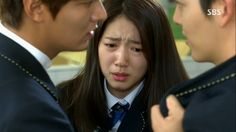 Ajima!!! The Heirs Kim Woo Bin, Park Shin Hye, The Heirs, Lee Min Ho, Singing, Drama, Korean, Korean Language, Dramas