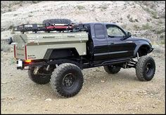 are there any miitary trailer boxes used as a truck bed - Expedition Portal