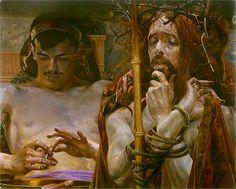 Jacek Malczewski - Chrystus przed Piłatem
