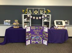 Delta phi epsilon recruitment table
