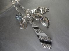 Fifty Shades of Grey necklace, SO pretty :)