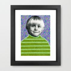 Kurt Series 008  Framed Art Print  #society6products #society6artprints #artcollage #papercollage #handmadecollage #analoguecollage #vintagecollage #retrocollage #vinylcollage