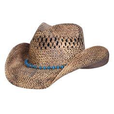 G2BH Eagle feather Western Raffia Hat