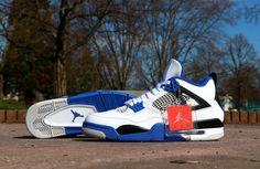 Air Jordan IV Motorsports Magic Johnson, Le Slam, Baskets Jordan, Air Jordan Iv, Jordans Sneakers, Sportswear, My Style, Collection
