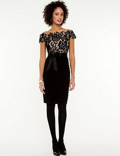 #Holiday #Fashion #Looks #Trends #LeChateau #Style #lace #cocktail #dress