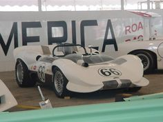 The Chaparral 2A - In 1965 Riverside race winning trim