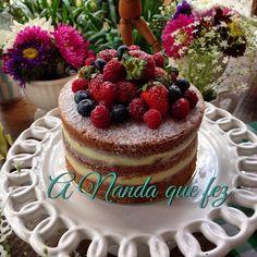Naked Cake de Leite Ninho