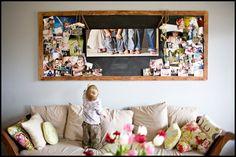 Love this photo collage idea