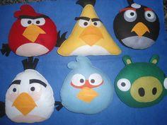 lembrancinha angry birds em feltro  quantidade mínima 10 unidades R$ 10,00