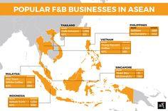 Popular food and beverage (F&B) businesses in ASEAN Popular Food, Popular Recipes, Jollibee, Kfc, Mcdonalds, Old Town, Beverage, Singapore
