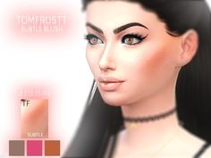 A subtle blush for your sims to enjoy.  Found in TSR Category 'Sims 4 Female Blush'