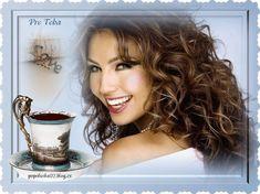 Joelle, Good Morning Coffee, Coffee Love, Gifs, Dreadlocks, Lady, Hair Styles, Beauty, Bom Dia