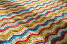Baby Ripple    Nearly finished, need to figure out what to do with the border.