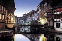 """Visit Strasbourg, which is not only France's sixth most populous city, but also home to a world-famous Christmas market, an impressive Gothic cathedral.""""La Petite France"""" is the most charming part of the city,"""
