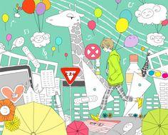 japanese cute illustration - Google Search