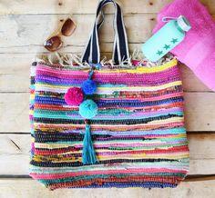 Extra Large Boho Tote Bag Beach Bag
