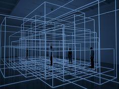 Sculptures & Installation Art by Antony Gormley | http://www.yellowtrace.com.au/antony-gormley-installation-art/