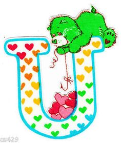 ❤️Care Bears and Friends ~ The Letter U