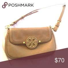 Real Tory burch purse Tan Amanda crossbody purse Tory Burch Bags Satchels