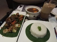 Black Pepper Roasted Ribs $$  Morning Glory - Amir Hamzah  Affordable than other places