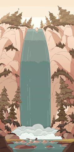Soft Wallpaper, Anime Scenery Wallpaper, Aesthetic Pastel Wallpaper, Kawaii Wallpaper, Aesthetic Backgrounds, Cartoon Wallpaper, Aesthetic Wallpapers, Cute Backgrounds, Wallpaper Backgrounds