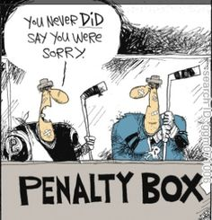 Penalty Box Hockey Joke