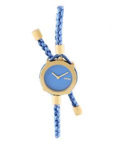 blue watch bracelet
