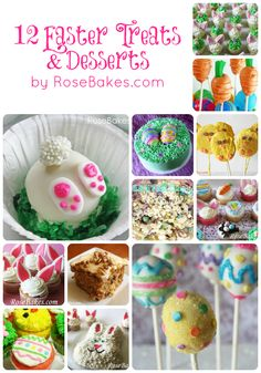 EASTER FUN TREATS RECIPES | Easter-Treats-Desserts-Collage.jpg
