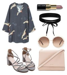 """""""#gladiatorsandals #summer"""" by kayceetruong on Polyvore featuring MANGO, Kate Spade, Chloé, Boohoo and Bobbi Brown Cosmetics"""