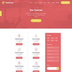 EduPrime - ModelTheme Page Layout, Good Skin, Wordpress Theme, Education, Layout, Educational Illustrations, Learning, Wordpress Template, Studying