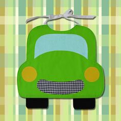 CAR Toddler Bib PDF Pattern by SewTuti on Etsy