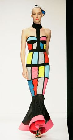 More Kalivas, this time inspired by Mondrian