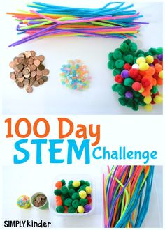 The 100th day of school is coming up soon. Try this 100 Days STEM Activity with your class. It's tons of fun and packed full of learning.