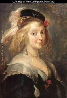 Portrait of Helena Fourment (c.1630) by Peter Paul Rubens.