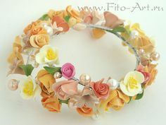 "Floral wreath ""Alexandria-I"" - Fito-Art.ru"