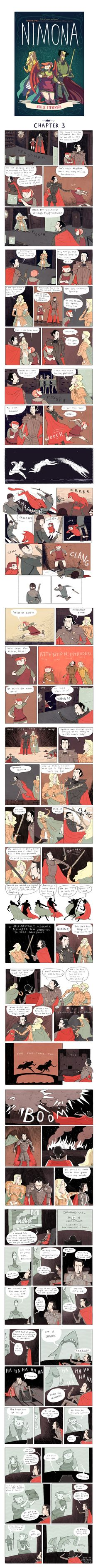 Nimona Chapter 3 by Noelle Stevenson