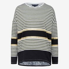 New Arrivals | Stripe Metallic Tee.. #frenchconnectionau #fcuk