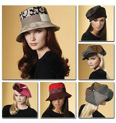 Выкройка Vogue — Шляпы - V8681